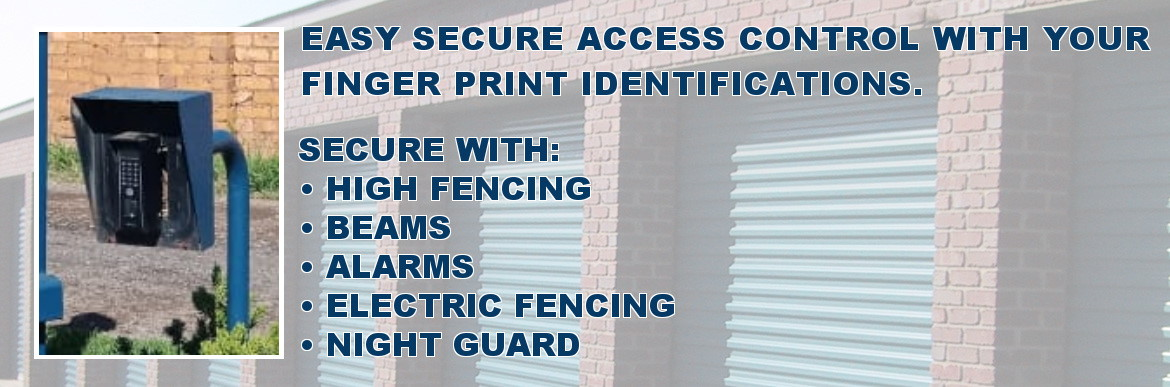 Easy secure access control with your finger print indentifications